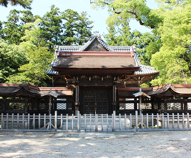 GOBYŌ KARAMON GATE AND FENCE
